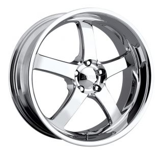 20 inch 20x8 5 Boss 335 Chrome Wheel Rim 5x5 5 5x139 7 Bronco RAM 1500