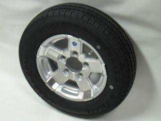07s 13 Aluminum Trailer Wheel Rim Goodyear ST175 80R13 LRC Tire