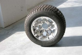 Cart Tires and New 10 Aluminum Wheels EZGO Club Car Yamaha