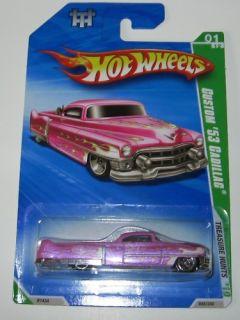 Hot Wheels 2010 Treasure Hunt Reg Custom 53 Cadillac