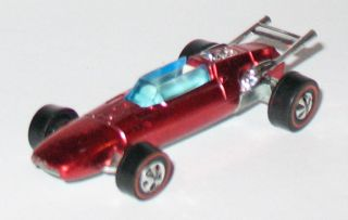 1969 Hot Wheels REDLINE   INDY EAGLE   Red   HK   Near Mint w/Badge
