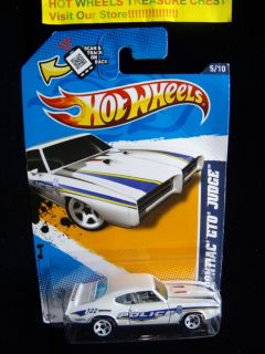 Hot Wheels PONTIAC GTO JUDGE #165 Main Street 2012 Birmingham Police 5