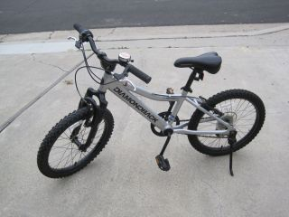 Octane Mountain Bike 20 wheels Silver Local Pick Up Orange Co CA