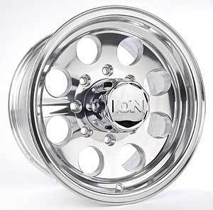 17 ion 171 Polished Wheels Rims 8x6 5 8 Lug Chevy GMC Dodge 2500 3500
