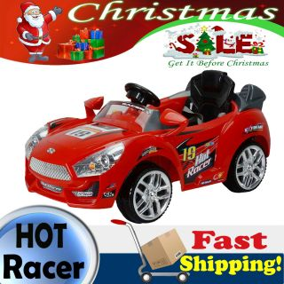 Kids Ride On Car Remote Control Wheels Power Battery Sports Car 6v