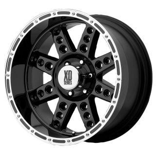 18x9 KMC XD Diesel Black Wheel Rim s 8x170 8 170 18 9