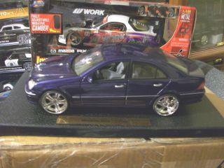 Benz C Klass Custom CHROME Rims Tuning Rare VHTF Anson Ut Rariat