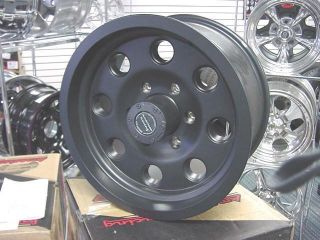 Racing Black Mojave 17x8 Ford Chevy Ford 8 Lug Wheels Teflon
