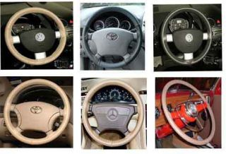 Cadillac Leather Steering Wheel Cover Wheelskins Custom Fit You Pick