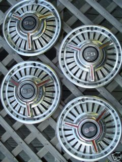 Chevrolet II Chevelle Nova SS Hubcaps Wheel Covers Rim