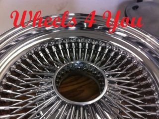 17 Wire Wheels Chrome Knockoff Spoke Rims inch Deal
