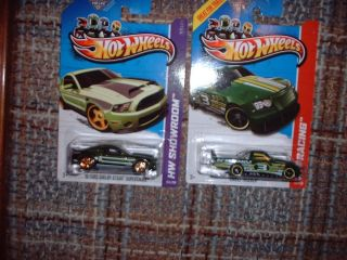 2013 HOT WHEELS SUPER TREASURE HUNT SUPER SNAKE SHELBY CIRCLE TRACKER