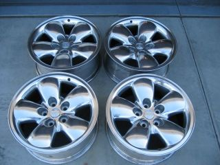 20 Dodge RAM 1500 03 05 Wheels Rims Alloy Polished Set of Four