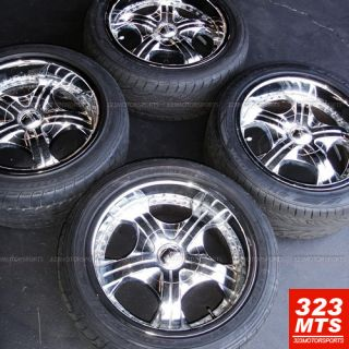 18 Used Devino Chrome Wheels Rims Used Tires