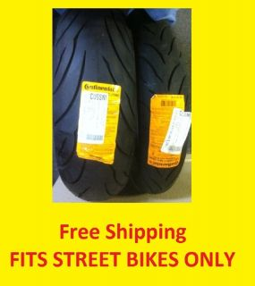 New Street Bike Motorcycle Tire Set 120 70 17 180 55 17