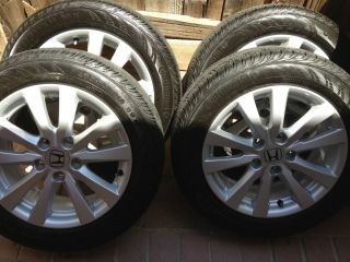 16 Honda Civic 2012 Stock Wheels Tires