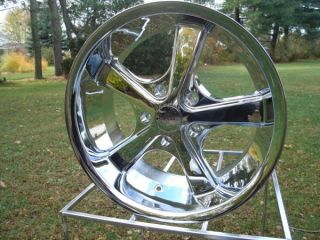 VN701 American Racing 17x8 ChromeNova Wheel Vintage Chevy Ford Mopar