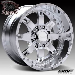BMF Repr 20x10 PVD Chrome Wheels 8x170 Ford Superduty Excursion