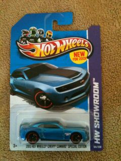 Hot Wheels 2013 Error Chevy Camaro Special Edition Double Tampo