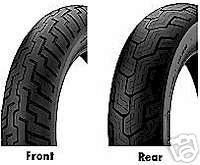 Dunlop D404 Front 110 90 19 Rear 170 80 15 Tire Set