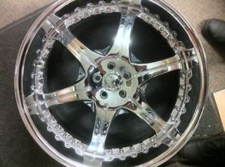 24 inch GIANELLE WHEEL / RIM spezia 6 DODGE CHARGER,CHALLENGER 300C