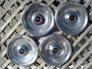 1969 69 Buick Riviera Hubcaps Wheelcovers Centercaps
