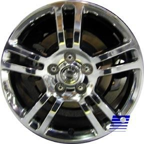 17 Chrome Alloy Wheel Rim for 2004 2005 2006 Nissan Altima