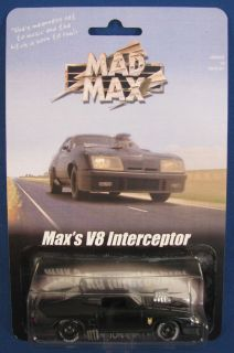 Max V8 Interceptor Custom Carded Ford Falcon XB Hot Wheels 6 10