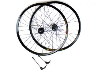 SRAM 26 MTB Mountain Bike Wheelset x7 6 Bolt Disc Brake Wheels