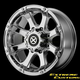 ATX Series AX188 Ledge Chrome 5 6 8 Lugs Wheels Rims Free Lugs
