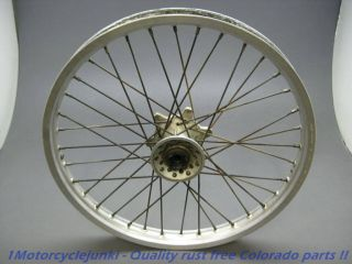 92 Yamaha DT200WR WR200 200 WR DT200 Front Wheel Rim