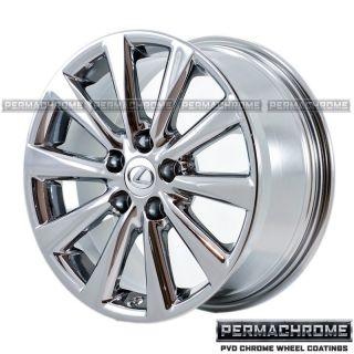 Original 17 Lexus Is Chrome Wheels 74216 PVD Exchange