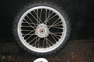 KTM65 SX Front Wheel Hub Rim Spokes