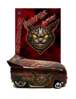 Hot Wheels Custom Sinister Grin VW Drag Bus Bykdr