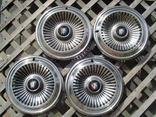 1966 66 Buick Le Sabre Hubcaps Wheel Covers Center Cap