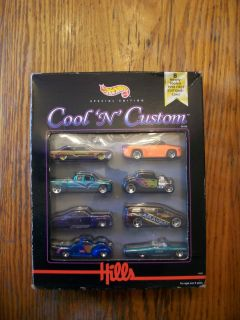 Hot Wheels Cool N Custom 1998 First Edition Cars 8 Pack from Hills