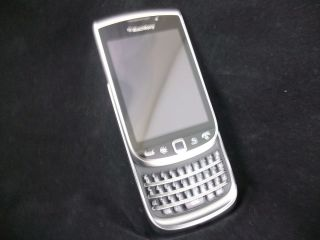 Rim Blackberry Torch 9810 Zinc 4G at T Touchscreen Phone