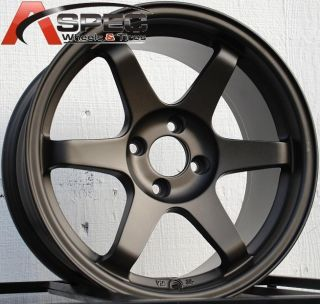 16x8 Varrstoen T1 Wheels 4x114 3 Rim 0mm Bronze Fits Nissan 280z 1970