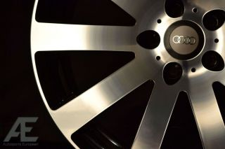 inch Audi S4 S5 S6 S8 TT TTS Wheels Rims and Tires HR4 Black MF