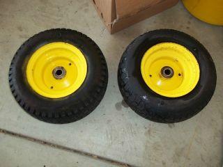 John Deere 212 Front Tires and Wheels