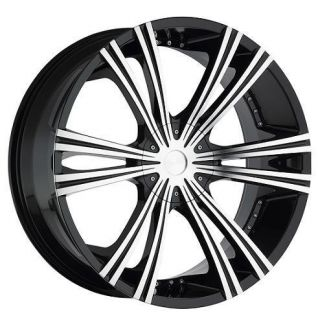 22 inch Rims 6 Lug 22 Wheels 2 Crave Alloys Chevy 1500 Tahoe Suburban