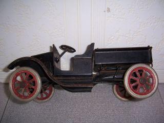 1920s Buddy L Ford Flivver Dump Truck 211 Type II Spoke wheels Black