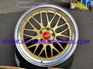 19 BBS LM Style Staggered Wheels w New Tires BMW 3 Series Infiniti G37