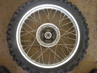 Honda CRF 230 Off 2005 05 CRF230 CRF 230F Rear Wheel Rim Tire