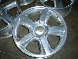 Chevy Silverado Tahoe Suburban Avalanche polished alloy wheel rim 1500