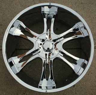 RVM 763 24 Chrome Rims Wheels Charger Magnum 300 300C