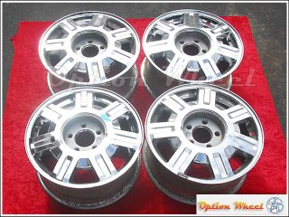 of 4 OEM Cadillac Deville 16 Chrome Wheels Rims Seville Fleetwood 4569