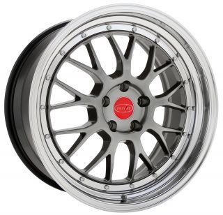 18x9 5 Privat Akzent Gray Wheel Rim s 5x100 5 100 18 9 5