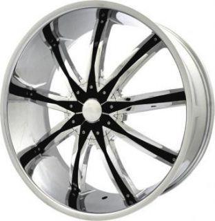 22 inch ELR20 Chrome Wheels Rim Lexus GS300 gs350 GS400