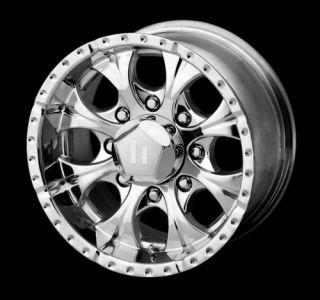 18 x9 Helo HE791 Maxx Chrome Wheels Rims 5 6 8 Lug